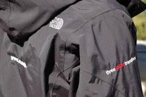 Jackets from The Northface.